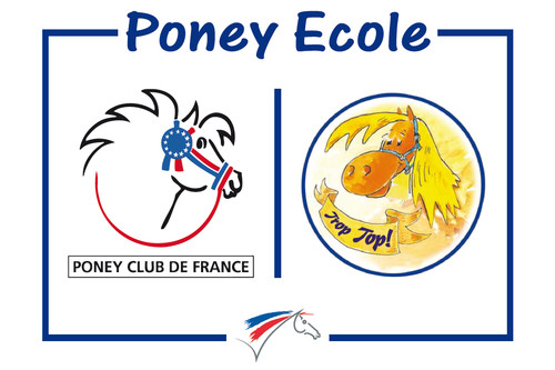 Label Poney Ecole